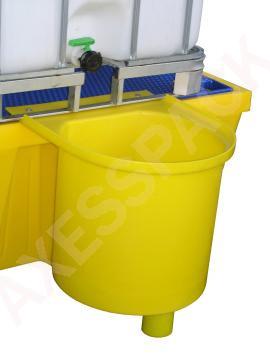 Réceptacle pour bac de rétention 1500 litres