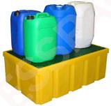 Plateforme de rétention PE 200 litres plastique