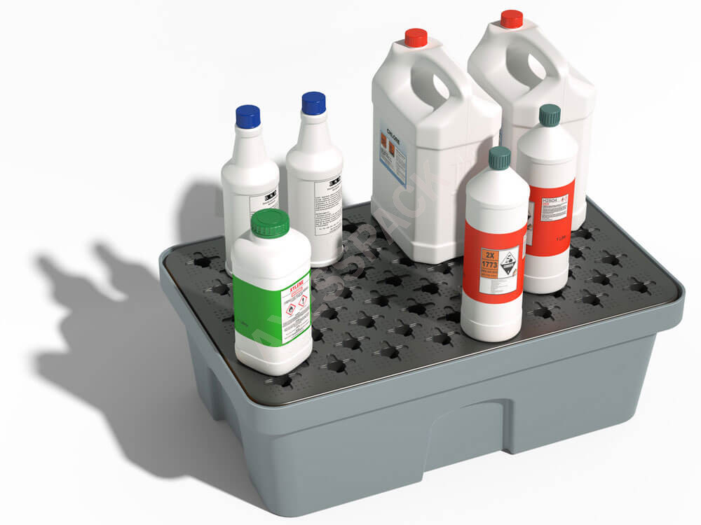 Bac de rétention PE 40 litres