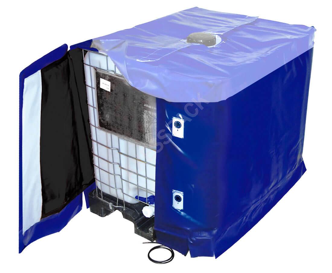 Bâche Chauffante pour cuve IBC - 3000W (10-90°C) - IP54
