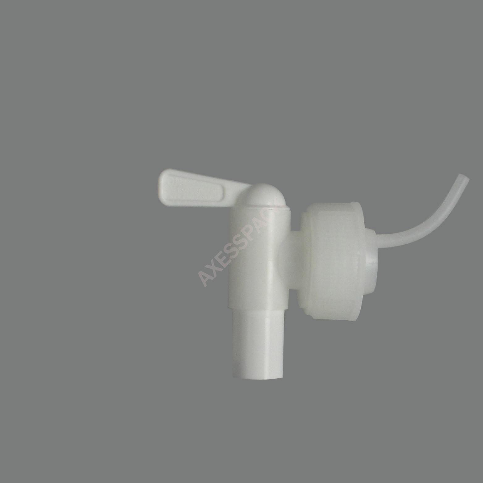 Robinet Aeroflow sur Capsule DIN45 AFT - Blanc