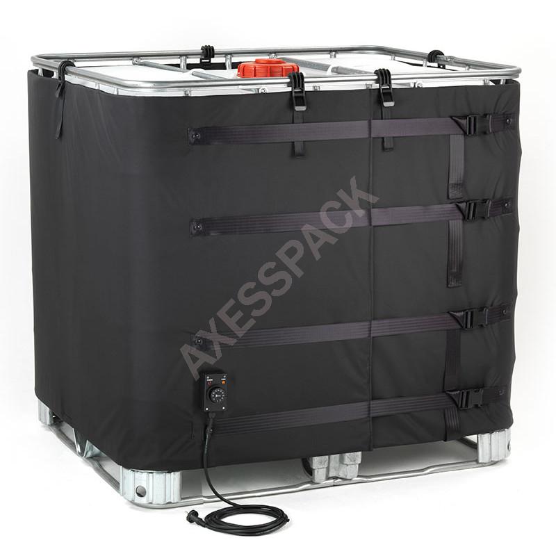 Couverture Chauffante pour cuve IBC - 1300W (0-90°C)