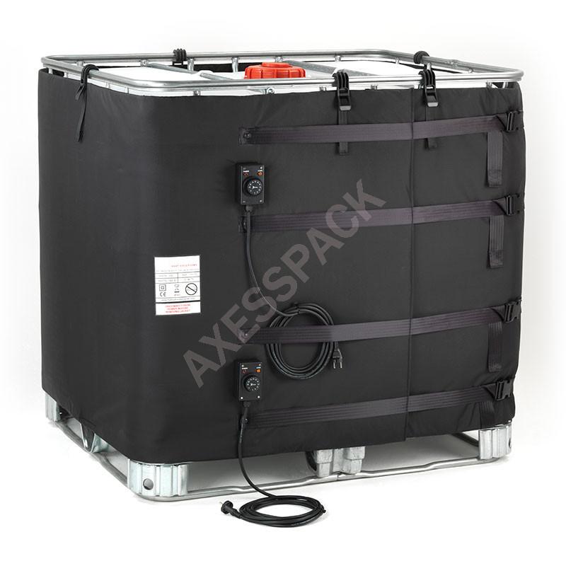 Couverture Chauffante pour cuve IBC - 2x1000W (0-40°C)