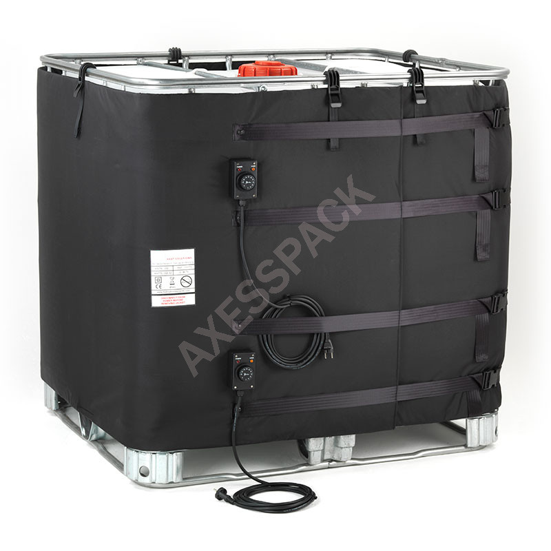 Couverture Chauffante pour cuve IBC - 2x1000W (0-90°C)