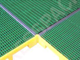 Couvre joint pour plateforme de rétention en acier galvanisée - L 2815 mm