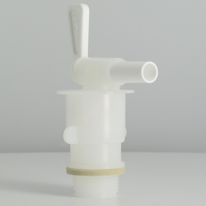 """Robinet Quick Serve 8mm vinotainer + adaptateur 3/4"""" BSP (pas gaz)"""