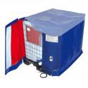 Bâche Chauffante pour cuve IBC - 1400W (10-70°C) - IP54