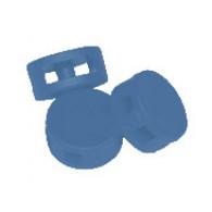 Plombs plastique bleu diamètre 9 mm