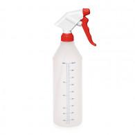 Pulvérisateur 2.2 ml NBR blanc/rouge (Ø28/400) + flacon 1035 ml naturel graduation imprimée