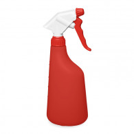 Pulvérisateur 2.2 ml NBR blanc/rouge (Ø28/400) + flacon 630 ml rouge gradué
