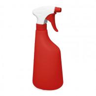 Pulvérisateur 1.3 ml PE blanc/rouge (Ø28/400) + flacon 630 ml rouge gradué