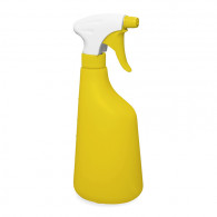 Pulvérisateur 1.3 ml PE blanc/jaune (Ø28/400) + flacon 630 ml jaune gradué
