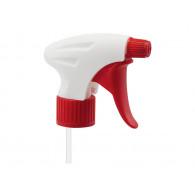 Tête de pulvérisateur Vela PE blanc/rouge - Ø28mm/410 - 1.3 ml - tige 25 cm