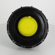 """Couvercle Mamor Ø 150 noir + bonde Femelle 2"""" pas gaz + Dégazage"""