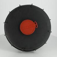 """Couvercle Schütz Ø220 noir + bonde 2"""" dégazage"""