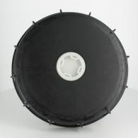 "Couvercle Schütz Ø220 noir + bonde 2"""