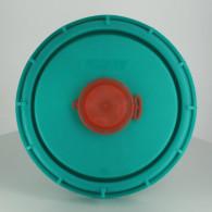 """Couvercle Schütz Ø150 Vert agréé FDA + Bonde 2"""" de dégazage + Capsule"""