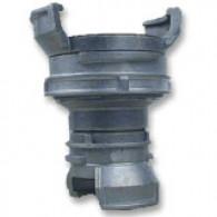 Réduction double raccord symétrique avec verrou - DN 100 et 40 mm - Alu