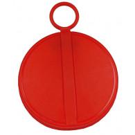 "Capsule plastique PE 2"" rouge pour bonde S70X6"