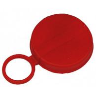 "Capsule plastique PE 3/4"" rouge pour bonde S38X6"