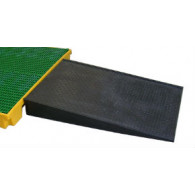 Rampe d'accès pour plate forme de rétention - 1200x800x150 mm