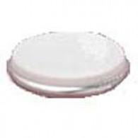 """Capsule 3"""" blanche à sertir pour bonde US (PE)"""