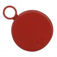 """Capsule 2"""" plastique PE rouge pour bonde S56x4 (Ø66.5mm / H:12 mm)"""