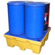 Bac de rétention PE carré 450 litres