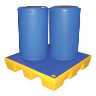 Bac de rétention PE carré 220 litres