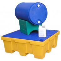 Support de fûts réversible 60 et 220 litres