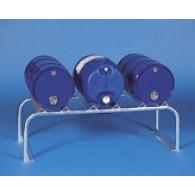 Support de fûts en acier  - 3 fûts 60L
