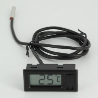 Thermomètre de surface à affichage digital - 1 mètre - sonde Inox 304L