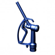 """Pistolet distributeur Nylon bleu F 1"""" pas du gaz  joint FPM"""