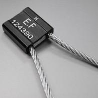 Scellé Câble galvanisé Tête Alu 30x32x10 mm L 250 mm - Tige Ø 5 mm