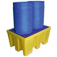 Bac de rétention PE Jaune 450 litres