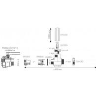 """Kit de niveau IBC à cames 2"""" (S60X6)"""