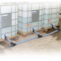 Kit raccordement 3 Cuves IBC