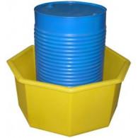 Bac polyvalent octogonal de 300 litres