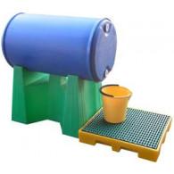 Support amovible pour fût 220 litres