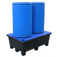 Bac de rétention PE à pieds 240 litres