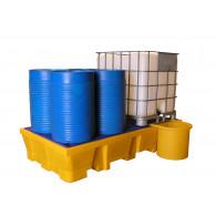 Receptacle pour bac 1050 litres Bi container