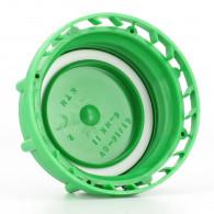 Bouchon F DIN61 (S60X6) Vert + Inviolabilité