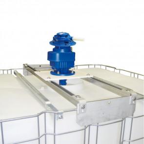 Agitateur pneumatique de cuve IBC - 104-169 trs/min + Adaptateur universel
