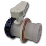 "Werit Piston valve 3"" (FPM Gasket) - Outflow Male S60X6"