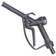 Dispensing gun PP Black Ø25 - NBR gasket