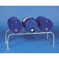 Metallic support for drum - 3 x 60 L