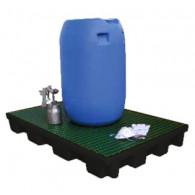 120 L ECO retention floor (recycled PE) - PE duckboard