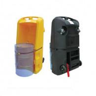 220 liters drum trolley – black color