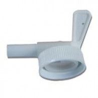 """Female Tap """"Quick Serve"""" on screw ring USA"""