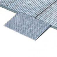 Mettalic access ramp for retention floor
